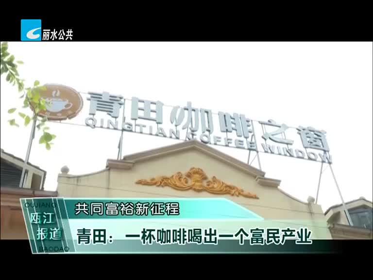 共同富裕新征程:青田:一杯咖啡喝出一个富民产业